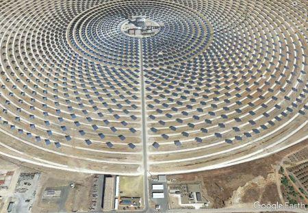 Fotoğraf 2: Gemasolar Güneş Enerji Santrali