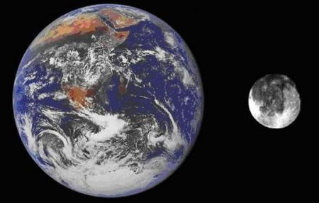 Dünya ve Doğal Uydusu Ay
