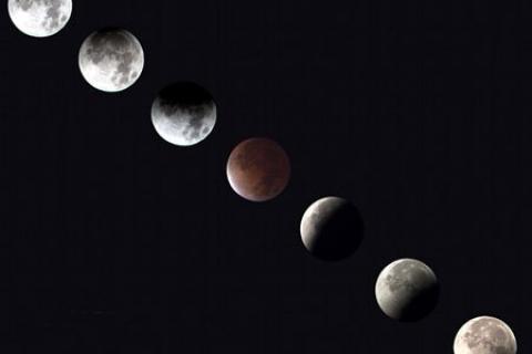 Ay'ın Dünya Çevresindeki Hareketini Gösteren Model Hazırlama