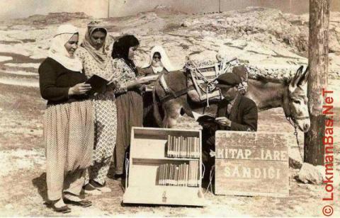 Eşekli Kütüphaneci Mustafa Güzelgöz