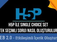 Ders 11.H5P ile Single Choice Set - Tek Cevaplı Sorular (Web 2.0 Etkileşimli İçerikler)