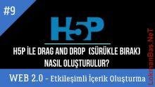 Ders 9.H5P ile Drag and Drop - Sürükle Bırak Etkinlik Oluşturma (Web 2.0 Etkileşimli İçerikler)