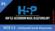 H5P ile Accordion İçerik Nasıl Oluşturulur (Web 2.0 Araçlarıyla Etkileşimli İçerik Oluşturma)