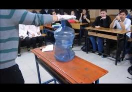 Açık Hava Basıncı Deneyi Videoları - İbrahim Evren ÖZER