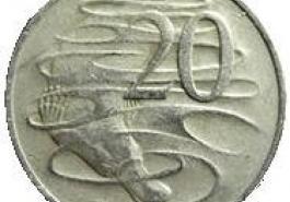 Yumurtlayan Memeli - Ornitorent - Platipus - Avusturya 20 Cent